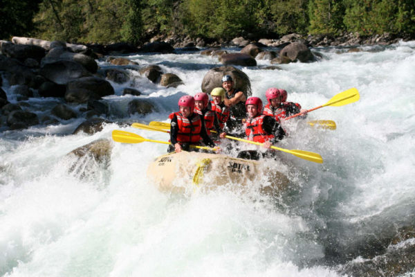 1 Day White Water Rafting