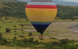Hot air ballooning experience in Queen Elizabeth national park